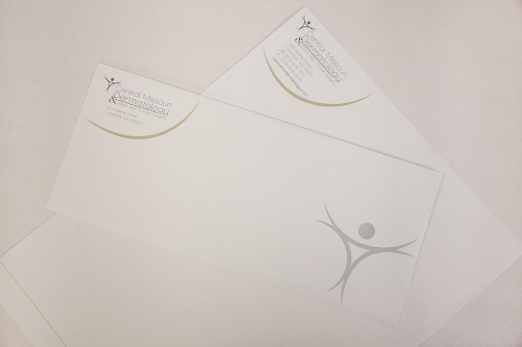 Central Missouri Dermatology Envelope and Letterhead
