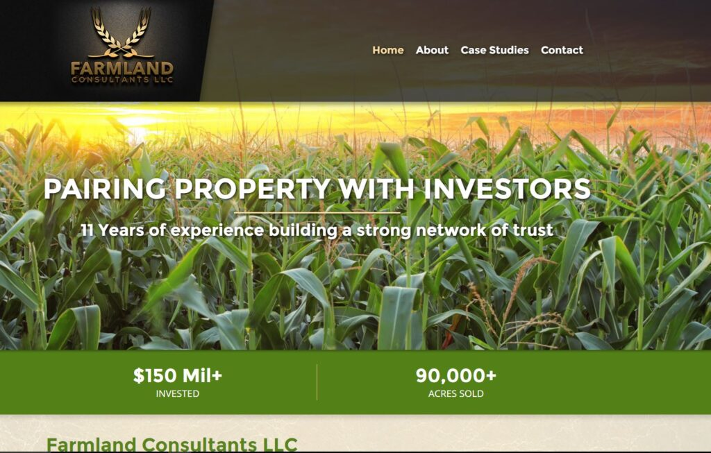 Farmland Consultants LLC has a new website!